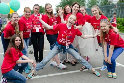 Большая и дружная команда — это наши волонтеры