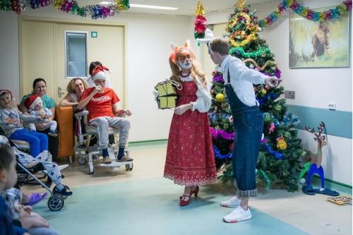 Поздравления в Центре нейрохирургии им. Н.Н. Бурденко