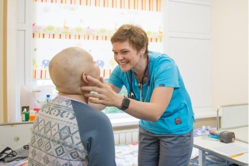 Наталья Игоревна любит общаться со своими пациентами