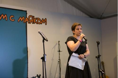 Нюта Федермессер, учредитель благотворительного Фонда помощи хосписам «Вера»