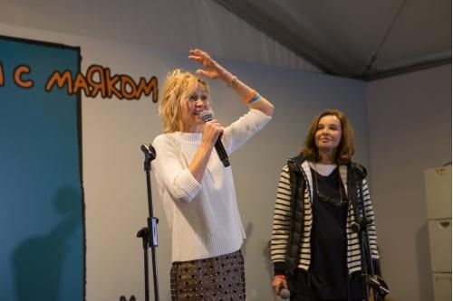 Ингеборга Дапкунайте и Татьяна Друбич, сопредседатели Попечительского Совета фонда «Вера»