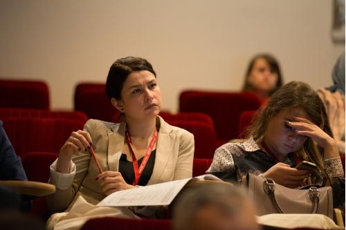 Во время лекции