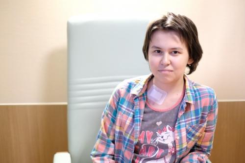 Таня не хочет ничего знать о своей болезни