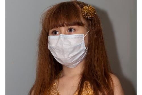 Маша во время лечения