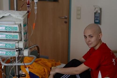 Эля в больнице