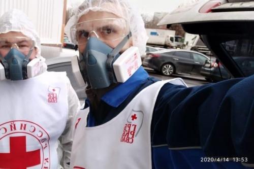 Волонтеры группы реагирования на бедствия РКК хорошо экипированы, им не нужны цифровые пропуска