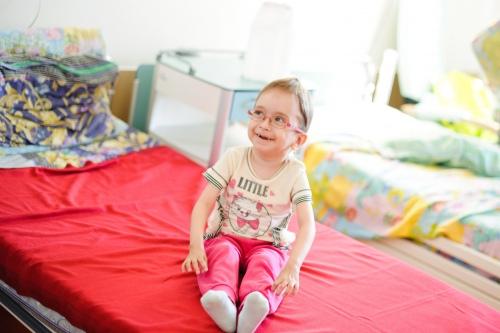 Сколько мы знаем Гелю, она всегда улыбается и радуется гостям