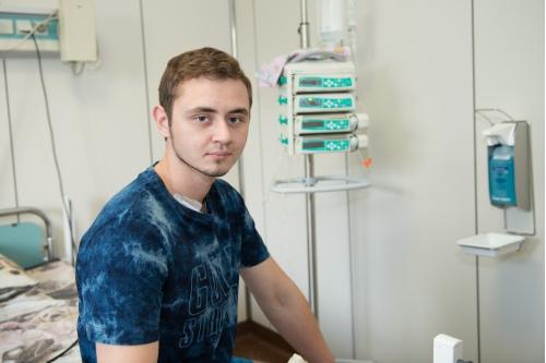 Лечение в Центре — единственный шанс для Гриши