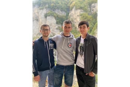 Ахмед, Никита и Адам