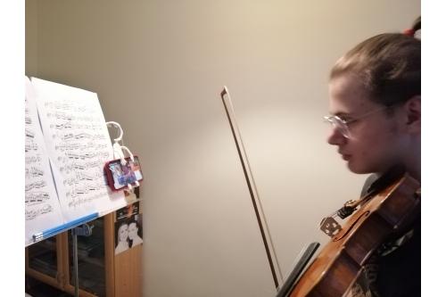 Вильям живет музыкой