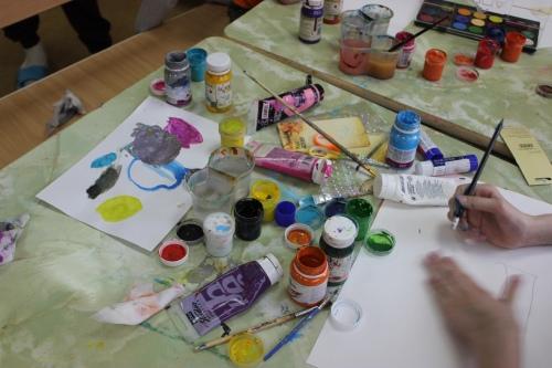 Рисовать, творить, учиться