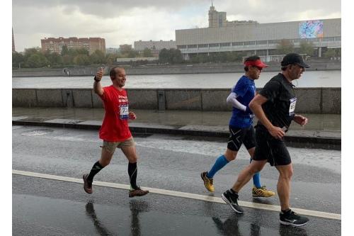 Леонид Варпаховский и его первый марафон
