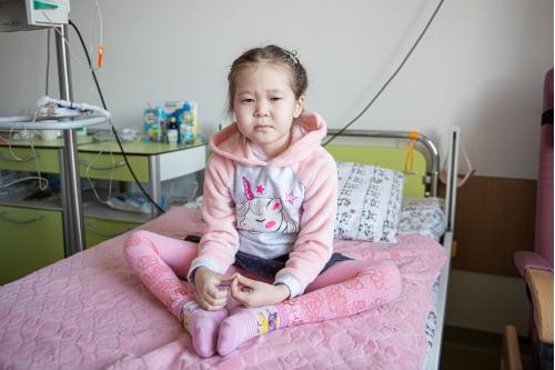 Инга пока в больнице, но когда вернется домой, будет учиться
