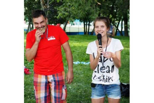 На летней встрече с волонтерами