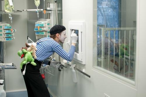 Бокс в отделении трансплантации
