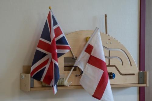«Юнион Джек» и флаг Англии