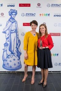 Чулпан Хаматова и Мария Баженова, фонд «Дедморозим»