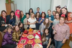 Волонтеры в Бурденко