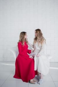 Лиза и Катя Картышовы