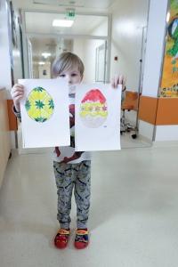 В Центре детской гематологии к Пасхе готовы