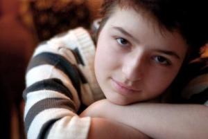 Катя во время лечения