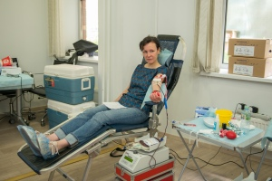 У Марины, директора по планированию компании, это уже вторая сдача крови
