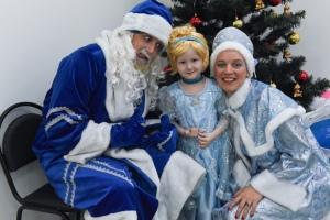 Дед Мороз, Снегурочка и прекрасная принцесса