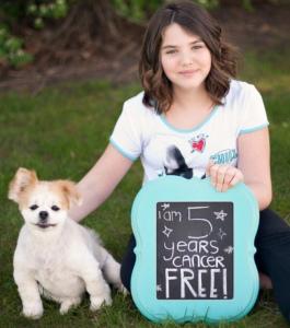 Эмили Уайтхед через 5 лет после лечения