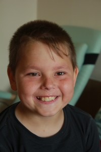 До гормонов и тяжелой, высокодозной химиотерапии Стас улыбался много и с удовольствием