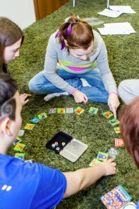 Игротека — подготовка волонтеров к реабилитациооным сменам