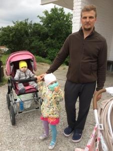 Михаил, Арина и Алеша