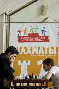 Владимир Крамник и Клим Сидоров