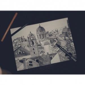 Рисунок Наташи Дудиной