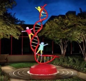Больница Св. Иуды Фаддея, США. Эмблема Pediatric Cancer Genome Project
