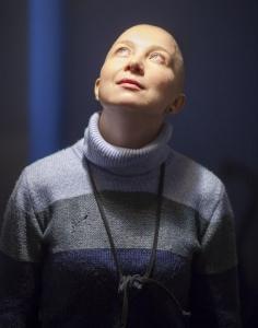 Волонтер Морозовской больницы Анастасия Степанова