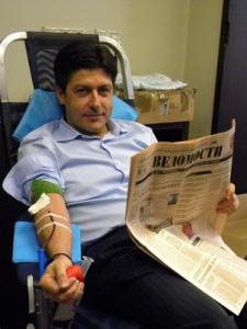Сдать кровь прямо на работе — легко!